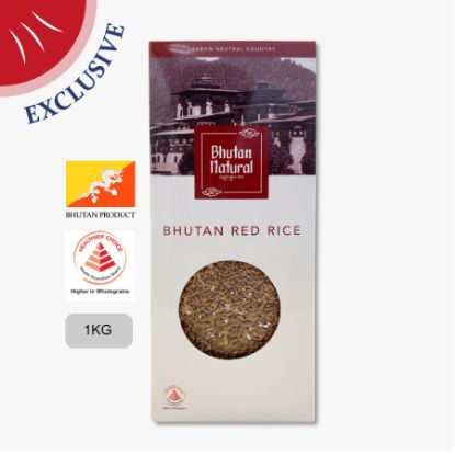 Picture of Bhutan Wholegrain Red Rice