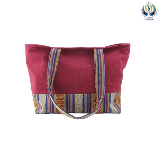 Picture of Bhutan Red Tote Bag