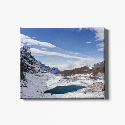 Picture of Bhutan Snowman Trek Canvas Print