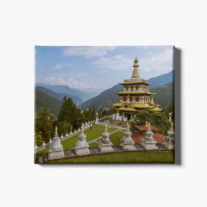Picture of Khamsum Yuelley Chorten Day Print