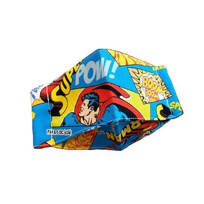 Picture of Superman  Cotton Reusable Mask